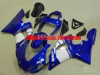 For 1998 1999 YAMAHA YZF-R1 98-99 YZF1000 R1 YZFR1 98 99 1998-1999 White blue black Fairing kit