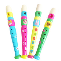 free shipping child musical instrument music toy plastic flute baby candy color clariet musical instrument whistle