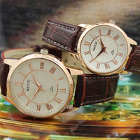 Free Shipping Business casual strap fashion Male & Female& Lovers wristwatch