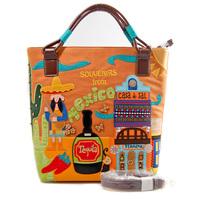 Thailand women's color block handbag messenger bag