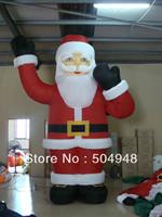 2013 Inflatable Santa Claus