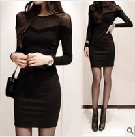 2013 spring women's sexy lace one-piece dress slim short design basic skirt summer