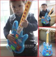 Child small guitar child musical instrument guitar toy keysters multifunctional smart cartoon guitar music
