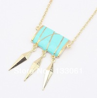 Gorgeous hot  Restore ancient ways jewelry metal drip  free shipping  3pcs lot fashion necklaces