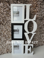 "Love frame for girl friend and home decor on the wall frame white 4*6"" x3"