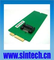 SATA SSD HDD to mini SATA 26pin adapter card for replacing 2012 MACBOOK PRO Retina A1398 MC975 MC976  IMAC ssd