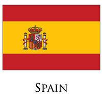2pcs/lot Flag of Spain 3 X 5 feet national country flag Spanish flag 90x150CM  free shipping
