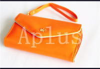 multi-functional card bag with zipper for phone bag,wallet bag with retail box ,whole sale 5pcs/lot  ,free shipping