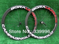 Campagnolo Bora Two G3 with straight pull powerway hubs road bike 50mm wheels!wholesale!