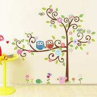 Child real multicolour flower animal cartoon sofa wall bedroom wall stickers cartoon