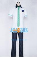 New Arrival Free ! Iwatobi Swim Club Nanase Haruka School Uniform Short Cosplay Costume