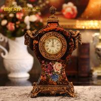 Home fashion ceramic clock ceramic clock yt203
