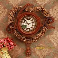 Bresh 5 luxury home classical fashion honourable romantic wall clock loved6420m