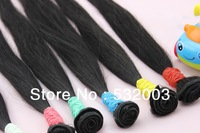 3pcs/lot,Queen hair product Brazilian virgin hair straight,5A&100% unprocessed hair &can dyed,Free shipping