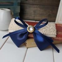 Free shipping~New Fashion Girls Women's temperament lace bowknot hairpin