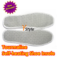 Free Shipping Shoe Insole with Tourmaline & Magnets Foot Massager Insole Good for Health Keeping Warm 1 Pair Drop Shipping