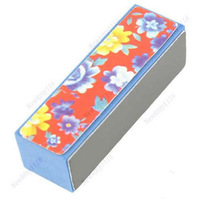 Free Shipping 5pcs/lot 4 Way Shiner Buffer Sanding File Block Nail Art Beauty