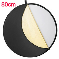 """5 in 1 Studio Lighting diffuser Light Mulit Collapsible Disc Reflector 80cm 32"""" For DSLR Camera Free Shipping"""