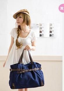 blue fashion shoulder bags women handbag canvas bag totes women messenger bag mango bolsas femininas mango designer handbags