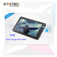 Hot selling 7 inch phone hd tablet with 3g sim card slot gps built in wifi and isdb tv function