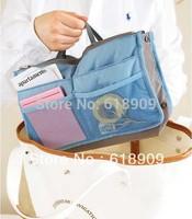 Free shipping 2013 newest multifunctional organizer women fashion hand bag 30*18cm