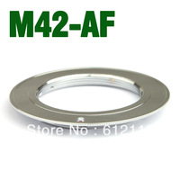 M42 Lens Mount Adapter Ring to Minolta MA SONY Alpha A55 A33 A560 A580