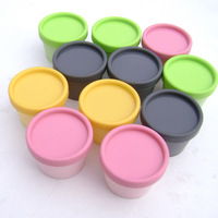 100g cylinder mask PP bottle, facial mask cream jars containers LUSH split charging jars supplier 50pc/lot