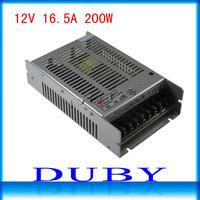 12V 16.7A 200W Switching Power Supply Driver For LED Strip light Display AC100V-240V Input,12V Output Free Shipping