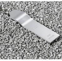 Free Shipping ! SSK K5-SFD199 16GB Unique Fashion Metal Keychain Design 100% 16GB USB2.0 Flash Drive Disk Silver