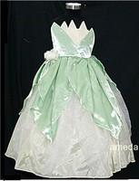 Halloween Deluxe Tiana Frog Princess Costume 3-8Y