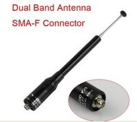 NA-773 SMA-F Female Stretched UHF+VHF Antenna for TK3107 BF-UV5R UV6 shipping free