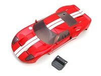 1/28 scale  mini-z  red rc car body