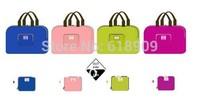 Free shipping 2013 newest style foldable shopping bag women handbag