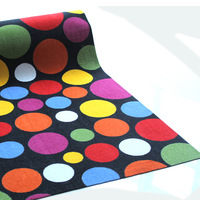Modern brief slip-resistant velvet carpet piaochuang pad stone customize