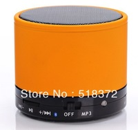 Mini stereo Bluetooth wireless speakers box,Portable bluetoot + TF card speaker