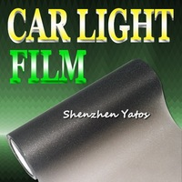 Glitter Black Car Light Color Changing Film Wrap Vinyl 10M*30CM/Roll