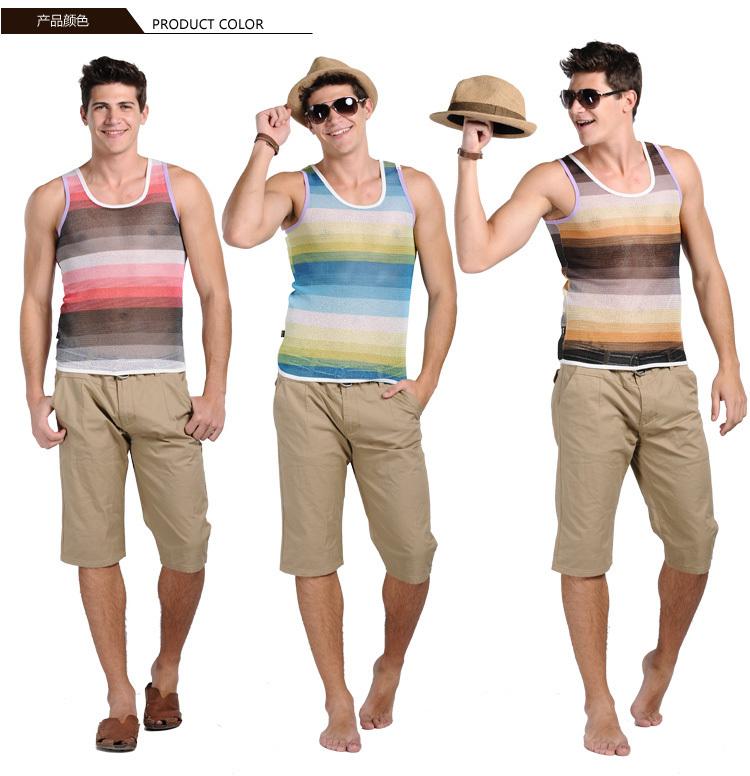 Männer sehen in Tank Tops schwul aus