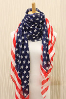 scarves the United States flag ,the Stars and the Stripes,Fashion, USA American US Flag scarf ,fluffy scarf (MIni order is$10)