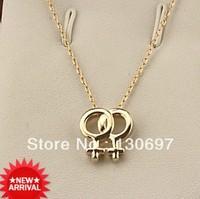 rhinestones necklace zircon pendant LESBIAN necklace designer product  free shipping