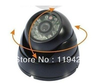 "FREE SHIPPING Cheapest Waterproof 1000 TVL 1/3""CMOS waterproof vandalproof dome camera IR 15m cctv camera"