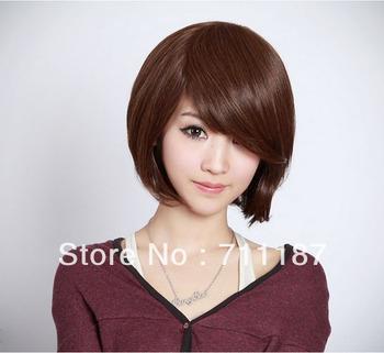Wigs Human Hair Short Hair Wig Fashion Woman Bob Short Human Hair Wig
