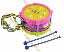 2013 New 5pcs Roll Drum Musical Toy Instruments Band Kit for Kids Children and Baby Gift Set 8840(China (Mainland))