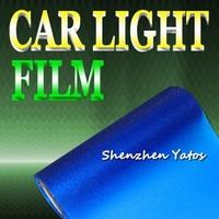 Deep Blue Glitter Car Lights Color Change Vinyl Sheet 10m*30cm/Roll