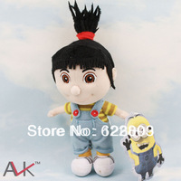 10pcs/lot Free shipping   Despicable ME Movie 7 inch  Girl Agnes  Plush Toy with tags  the best  birthday Gifts