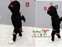 Kids 2013 autumn new Korean style children suit boys and girls thick cotton zipper jacket men