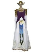 The Legend of Zelda Princess Zelda Cosplay Costume version B customize