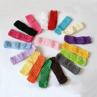 Wholesale  multicolour knitting headband/ crochet headband  /baby photography props/hair accessories/HB068