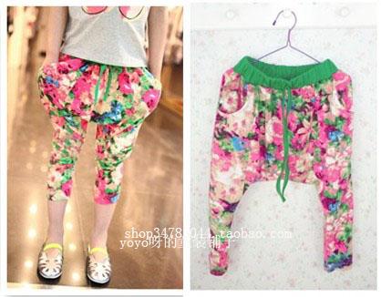 Kids Harem Pants PDF Pattern (AKA. Little Miss Fancy Pants