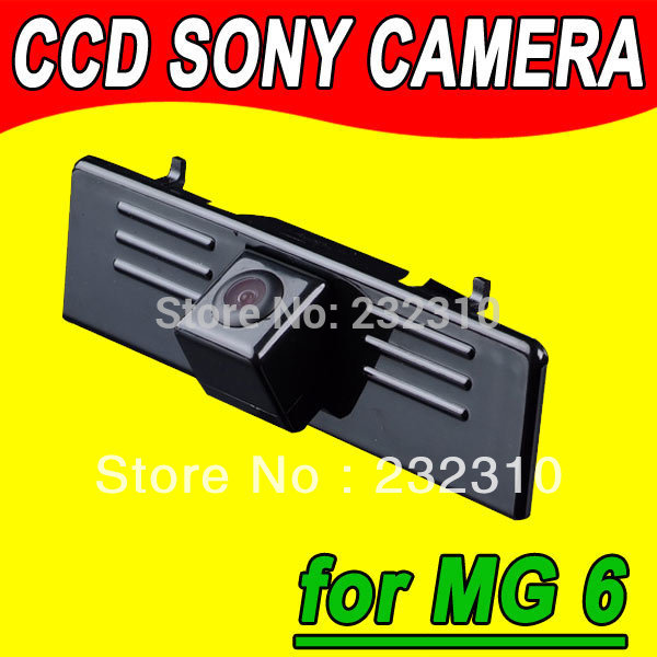 For Sony CCD car rear view back up parking camera MG6 reverse superb waterproof high-solution NTSC PAL( Optional) for GPS Radio(China (Mainland))