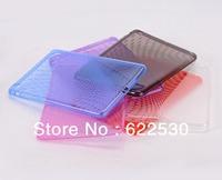 Clear Design Combo Soft TPU Case Cover Skin For Ipad MINI , Small Dot design Soft Case For Ipad MINI